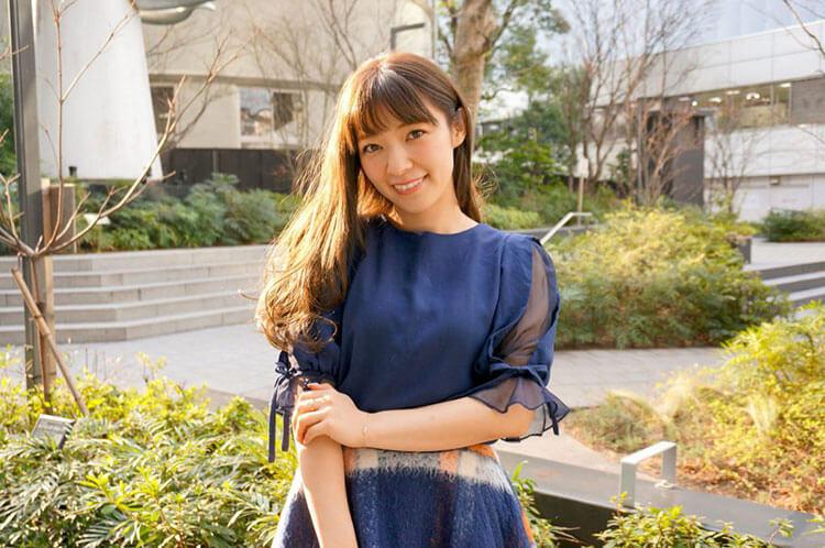 インタビュー前の沙恵子さん