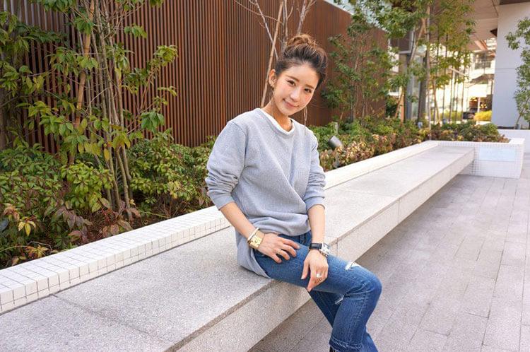 インタビュー後の智子さん