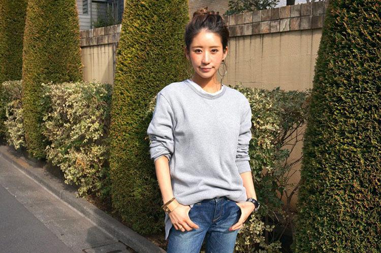 インタビュー前の智子さん