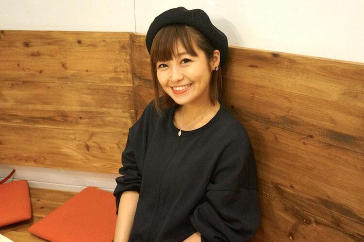 インタビュー後の綾瀬さん