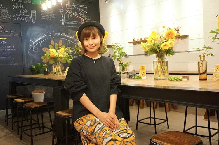 インタビュー前の綾瀬さん