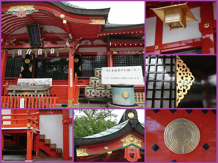 東伏見稲荷神社のポイント