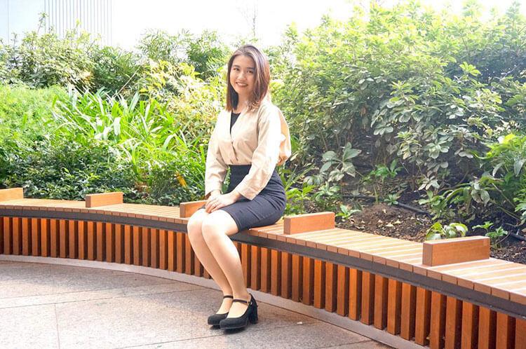 インタビュー後の琴美さん