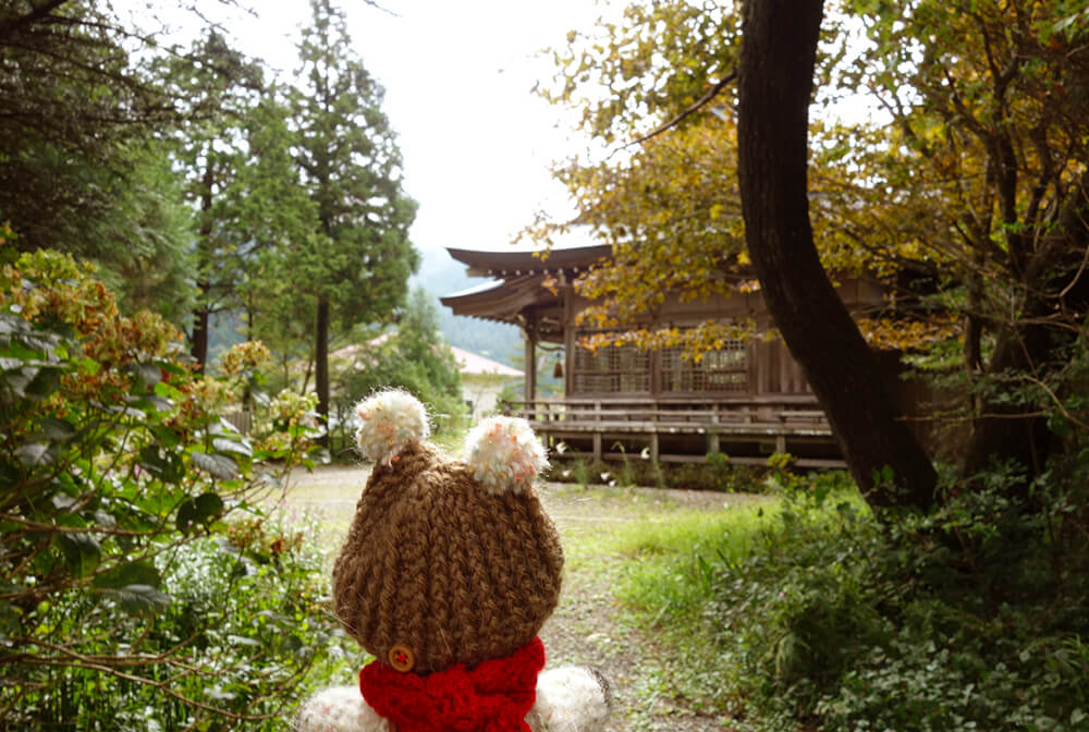 龍王神社とクマくまお