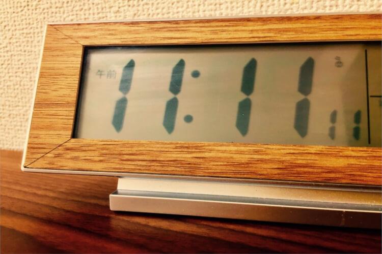 数秘術においての1111の意味とは?